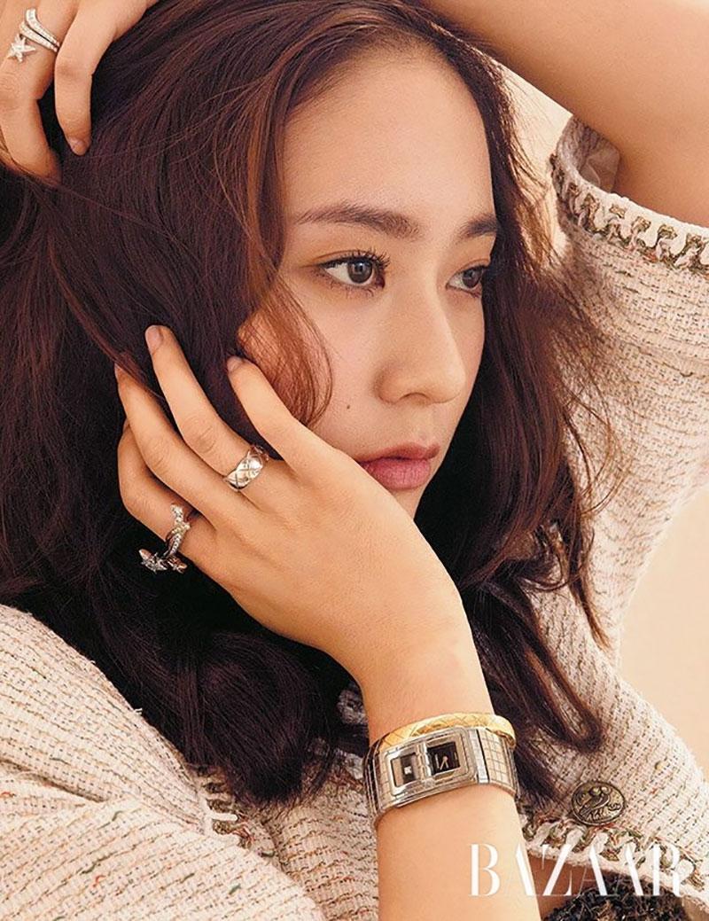 Krystal Jung trên Harper's Bazaar Hàn Quốc