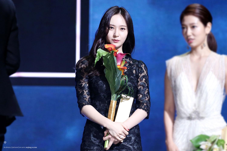 Krystal Jung tại lễ trao giải Baeksang Arts Awards 2015