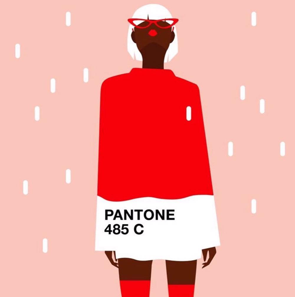 Ra mắt màu đỏ Period, Pantone gây bão mạng xã hội 3
