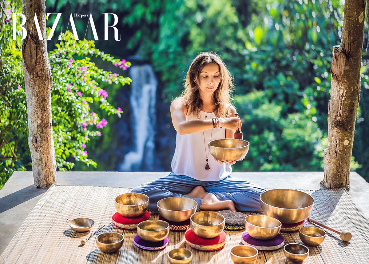 Thiền chuông đá có thật sự giúp giảm đau và chữa lành tâm linh?
