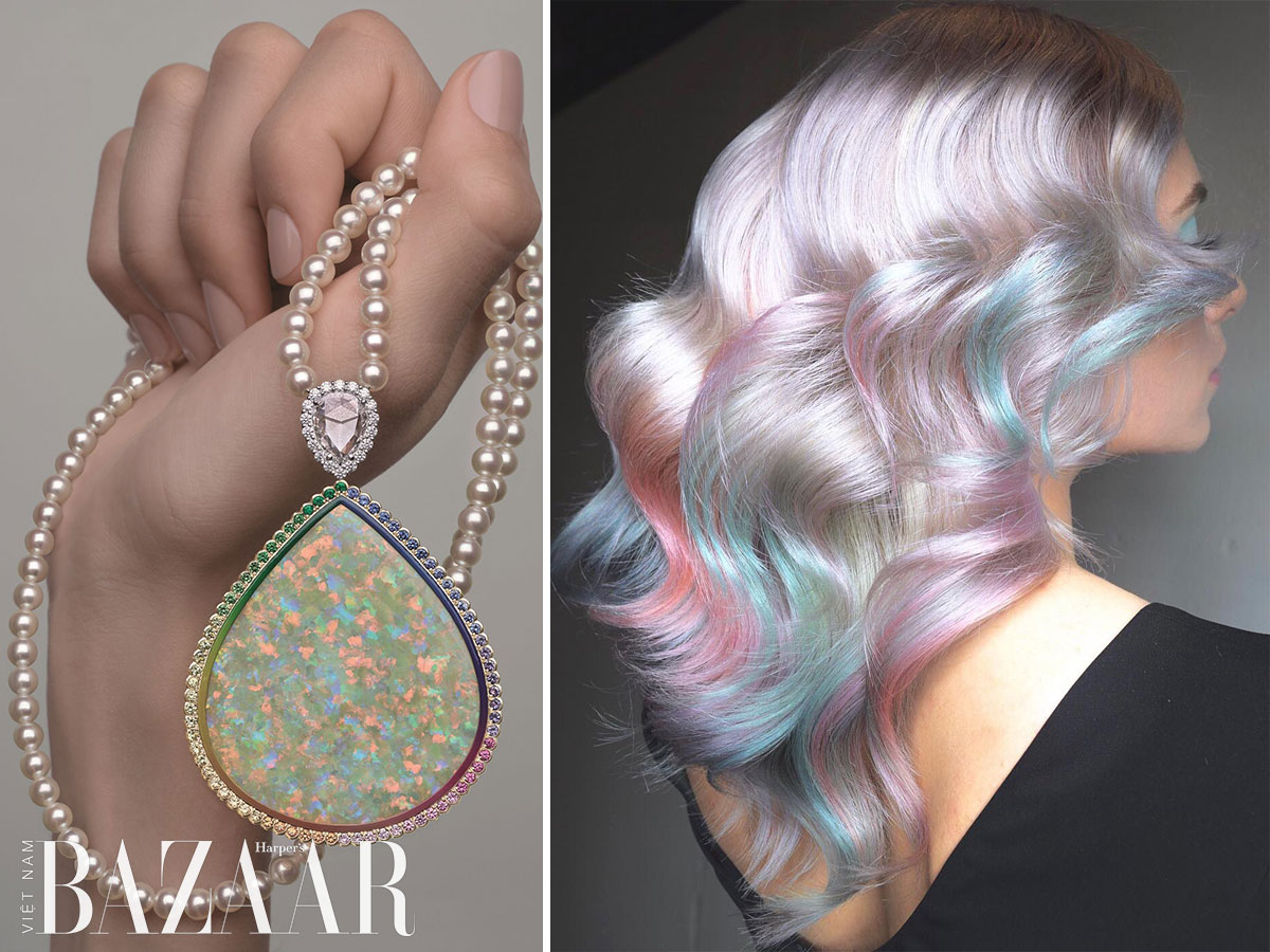 Xu hướng tóc Opal Hair là gì, và cách chăm sóc tóc nhuộm lâu phai 1