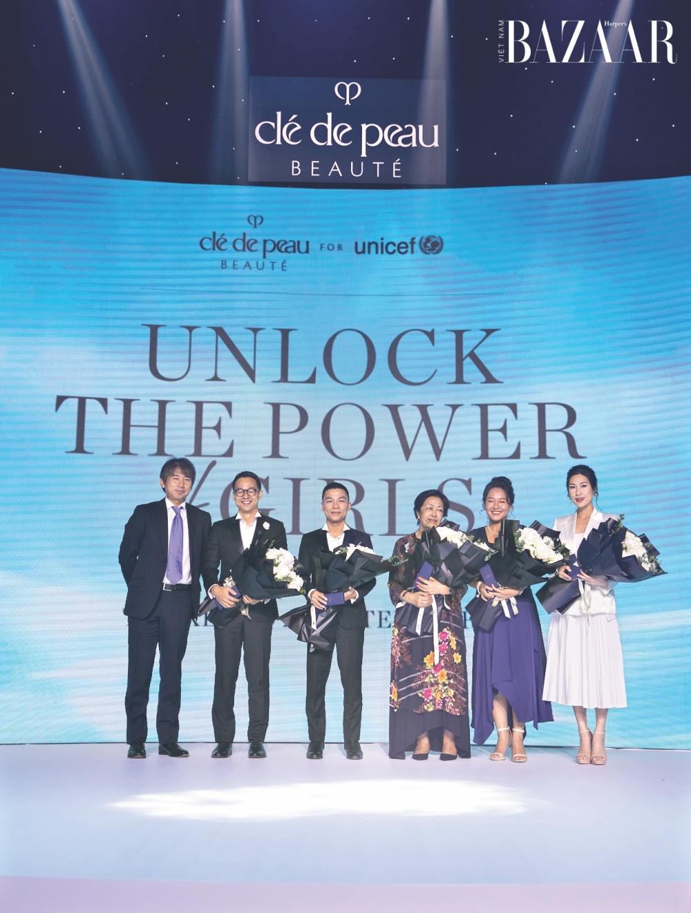 Clé de Peau Beauté tiếp nối chương trình Tỏa sáng sức mạnh tri thức