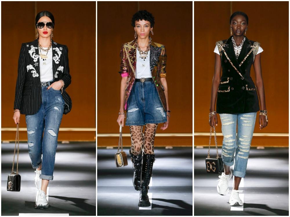 Các thiết kế ready-to-wear dễ sử dụng trong BST DG Digital Show #1 Walking in the Street