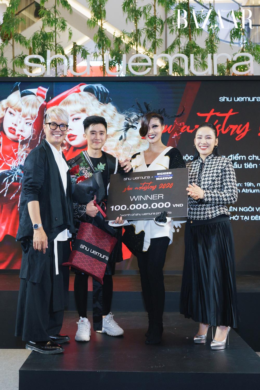 Ba nghệ sỹ trang điểm thắng giải cuộc thi Shu Artistry của Shu Uemura 1