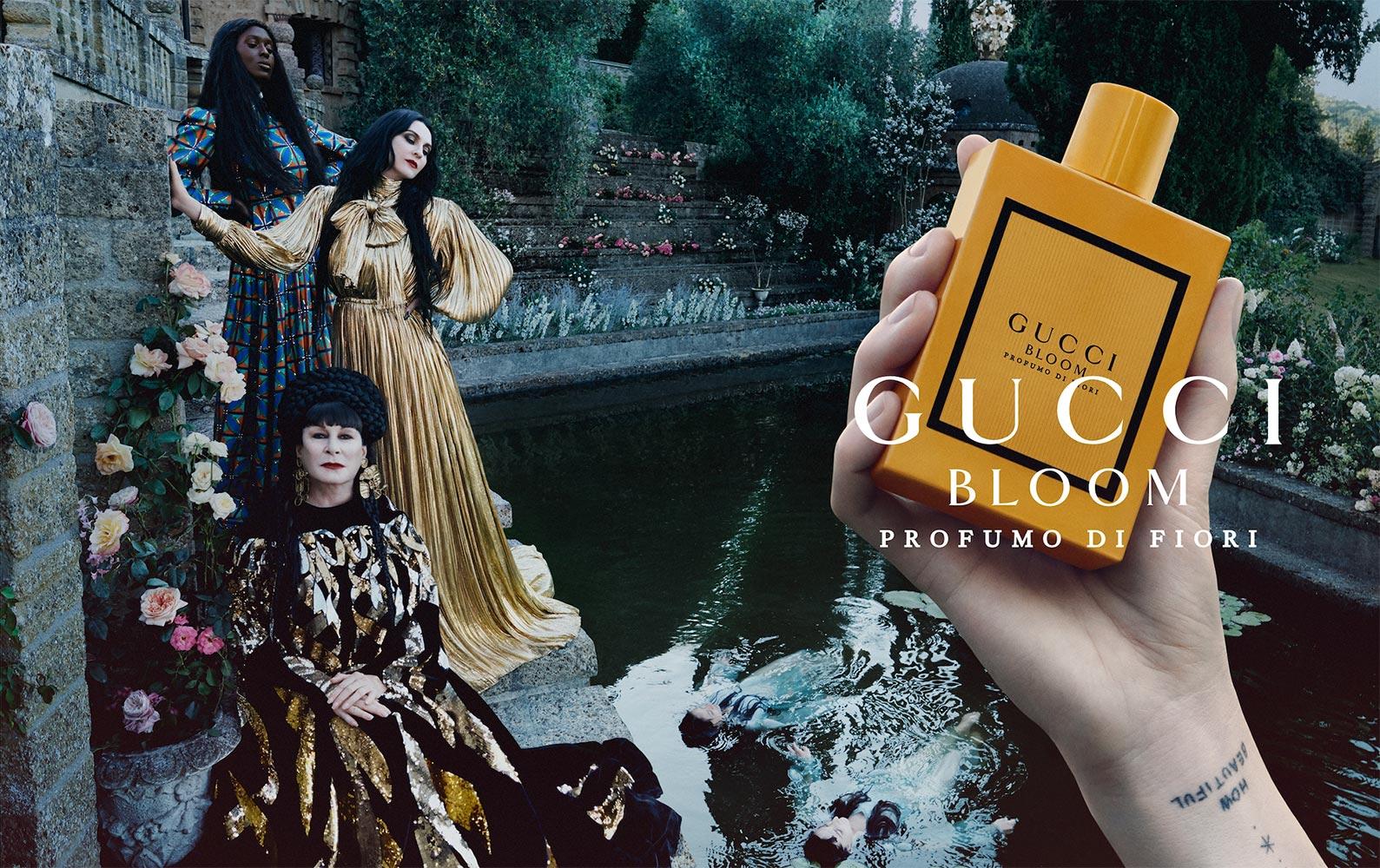 Chiến dịch quảng cáo nước hoa Gucci Bloom Profumo Di Fiori