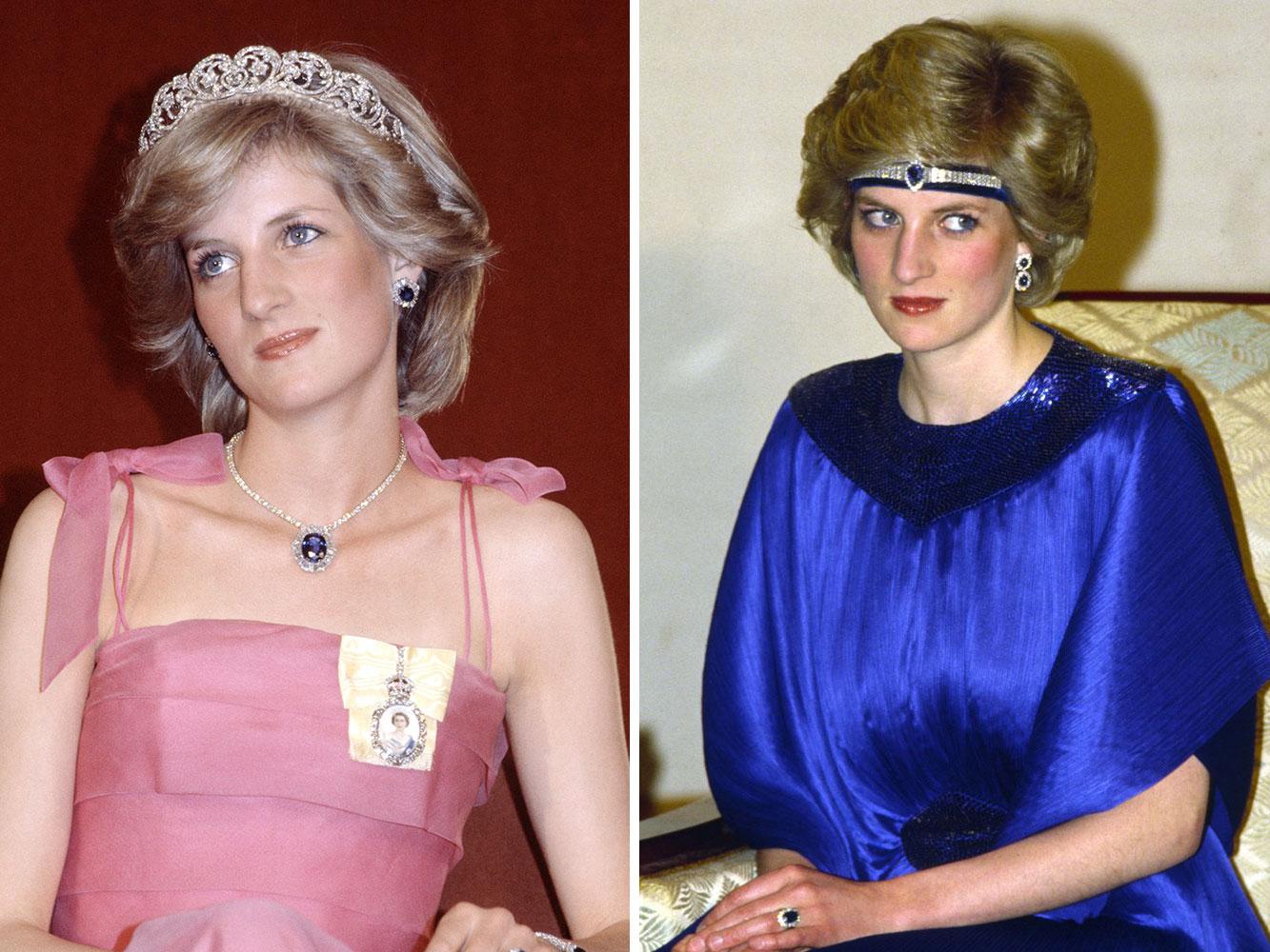 Món trang sức kinh điển của công nương Diana: Bộ vòng sapphire saudi