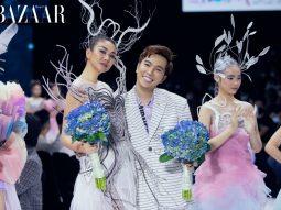 Nhà thiết kế Ivan Trần mang cảm hứng vị lai đến AVIFW 2020