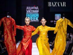Lý Giám Tiền biến áo dài thành trang phục ứng dụng tại AVIFW 2020