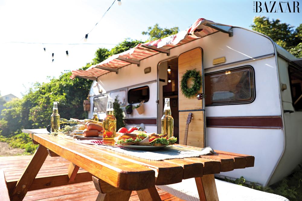 Du lịch caravan đang dần phổ biến trong cộng đồng yêu cuộc sống xê dịch