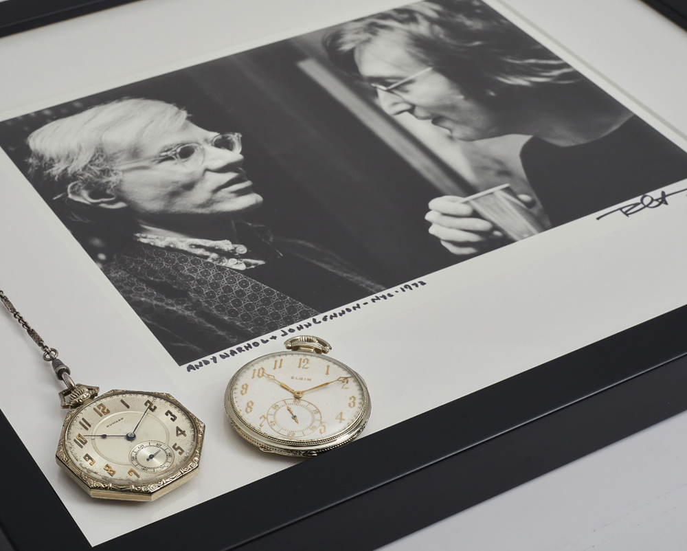 Đồng hồ John Lennon và Andy Warhol được đấu giá cùng nhau, mỗi chiếc 50,000 đô-la Mỹ