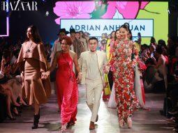 BST Đào (phần ba) của Adrian Anh Tuấn: Xuân về trên sàn diễn VIFF 2020