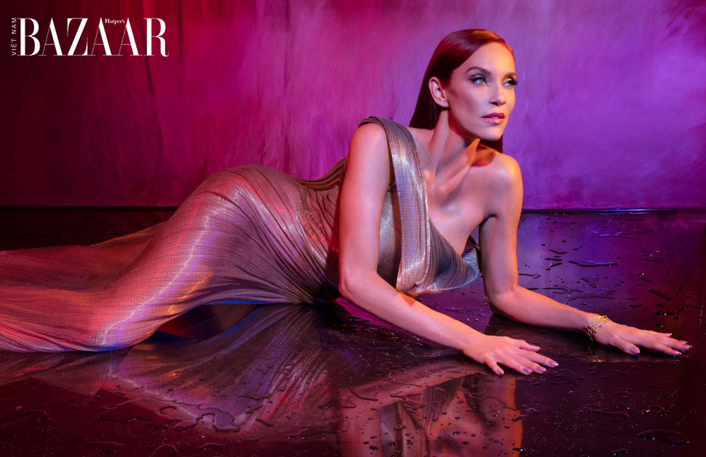 Carmit Bachar on Harper's Bazaar Vietnam digital cover