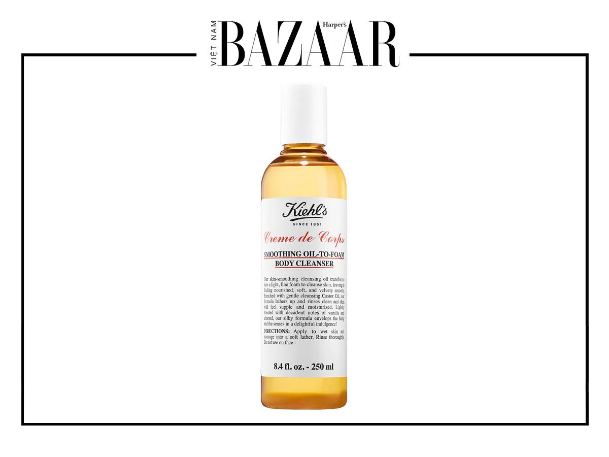 Dưỡng ẩm da ưu việt với dầu tắm 8