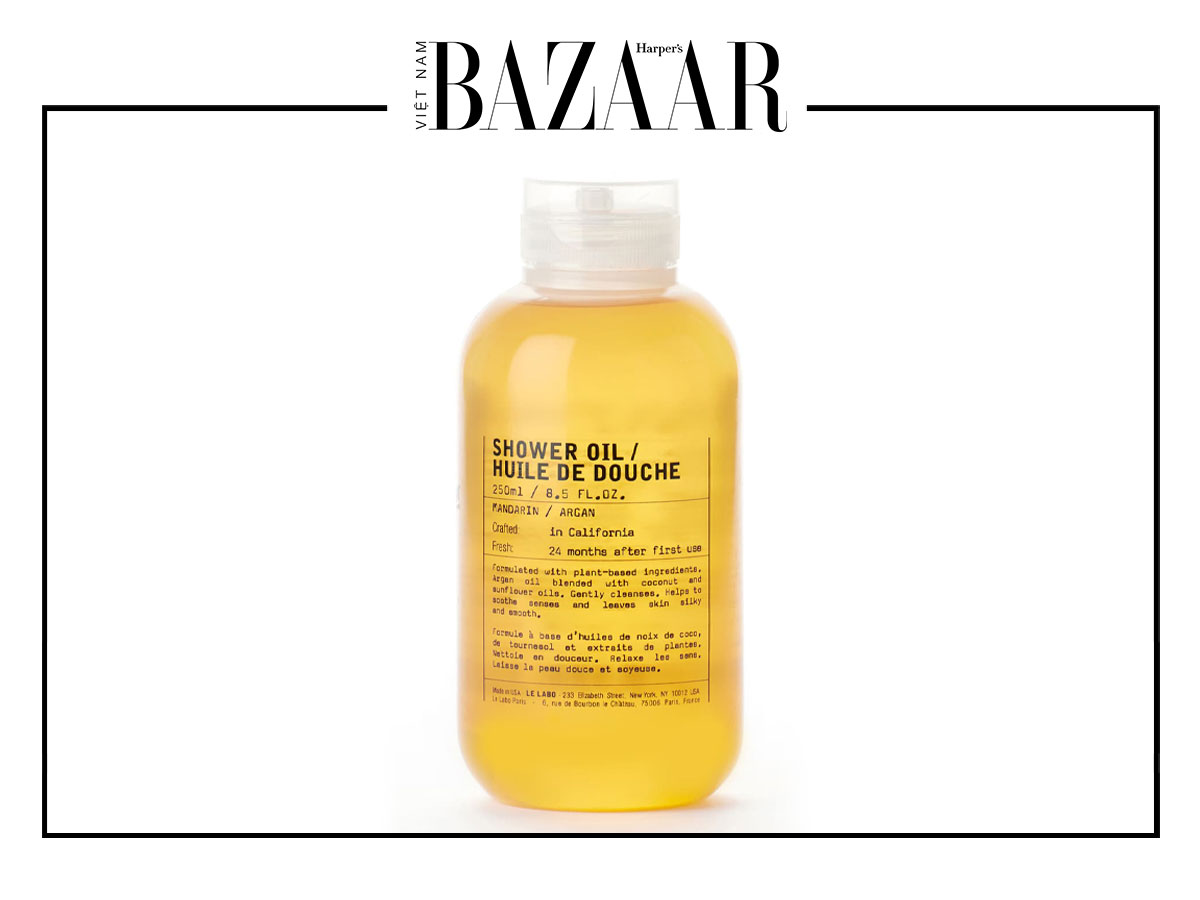 Dưỡng ẩm da ưu việt với dầu tắm 4