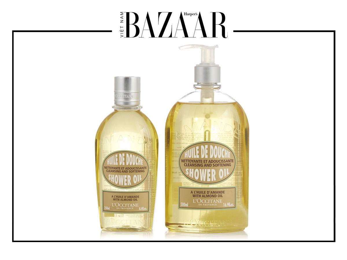 Dưỡng ẩm da ưu việt với dầu tắm 7