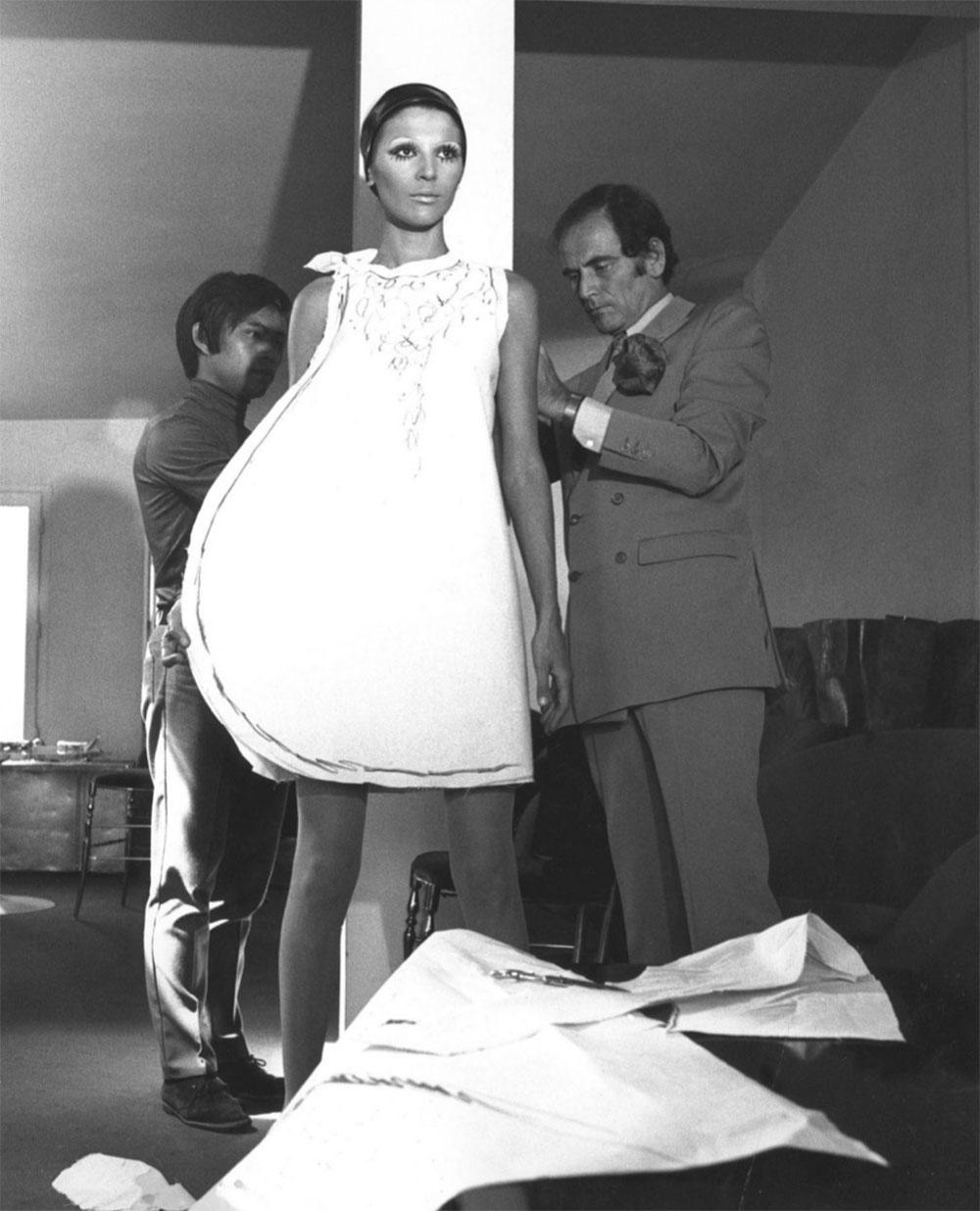 Những hình ảnh ngày đầu của thương hiệu Pierre Cardin