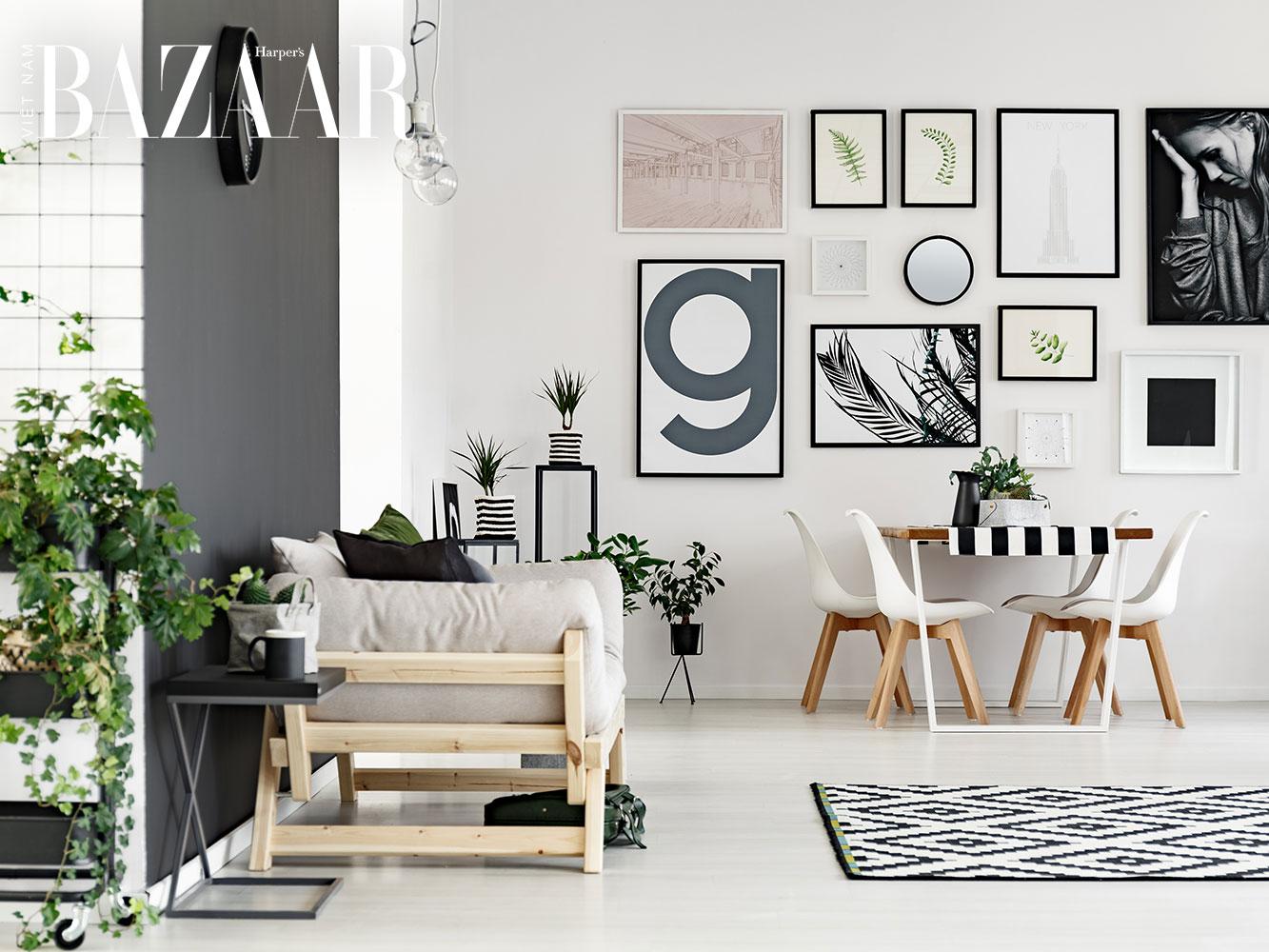 6 mẹo trang trí nhà cửa khiến căn hộ nhỏ trông to và thoáng đãng hơn