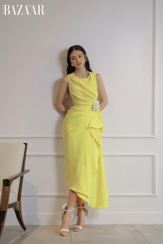 Hoa hậu Phương Khánh diện thiết kế Nguyễn Phúc Tuấn Xuân Hè 2021 3