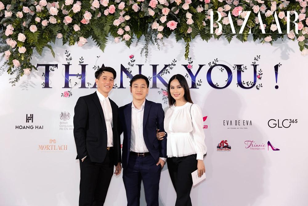 Khai niên 2021, Hoàng Hải diễn show Haute Couture tại lãnh sự quán Anh
