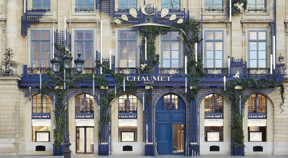 Cửa hàng Chaumet ở Paris. Ảnh: LVMH.