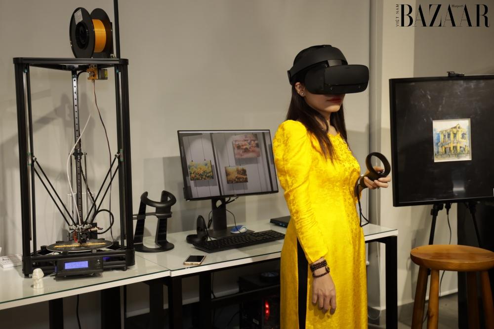 Trải nghiệm thực tế ảo tại chương trình ArtTech Fusion
