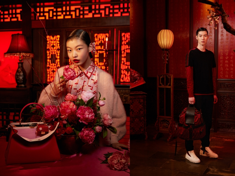 Bộ sưu tập thời trang Tết Tân sửu 2021 của Fendi