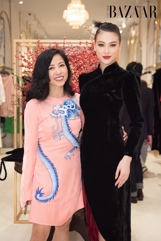 Phương Khánh, Ngọc Thảo đọ sắc trong thiết kế Hà Linh Thư 1