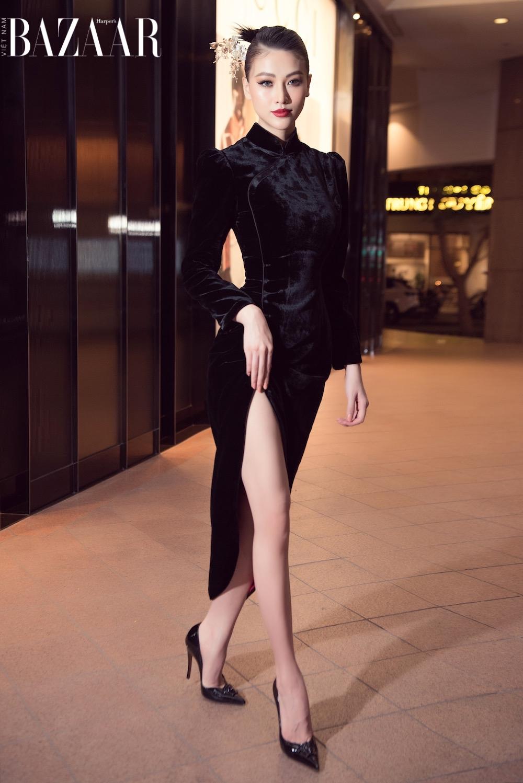 Phương Khánh, Ngọc Thảo đọ sắc trong thiết kế Hà Linh Thư 4