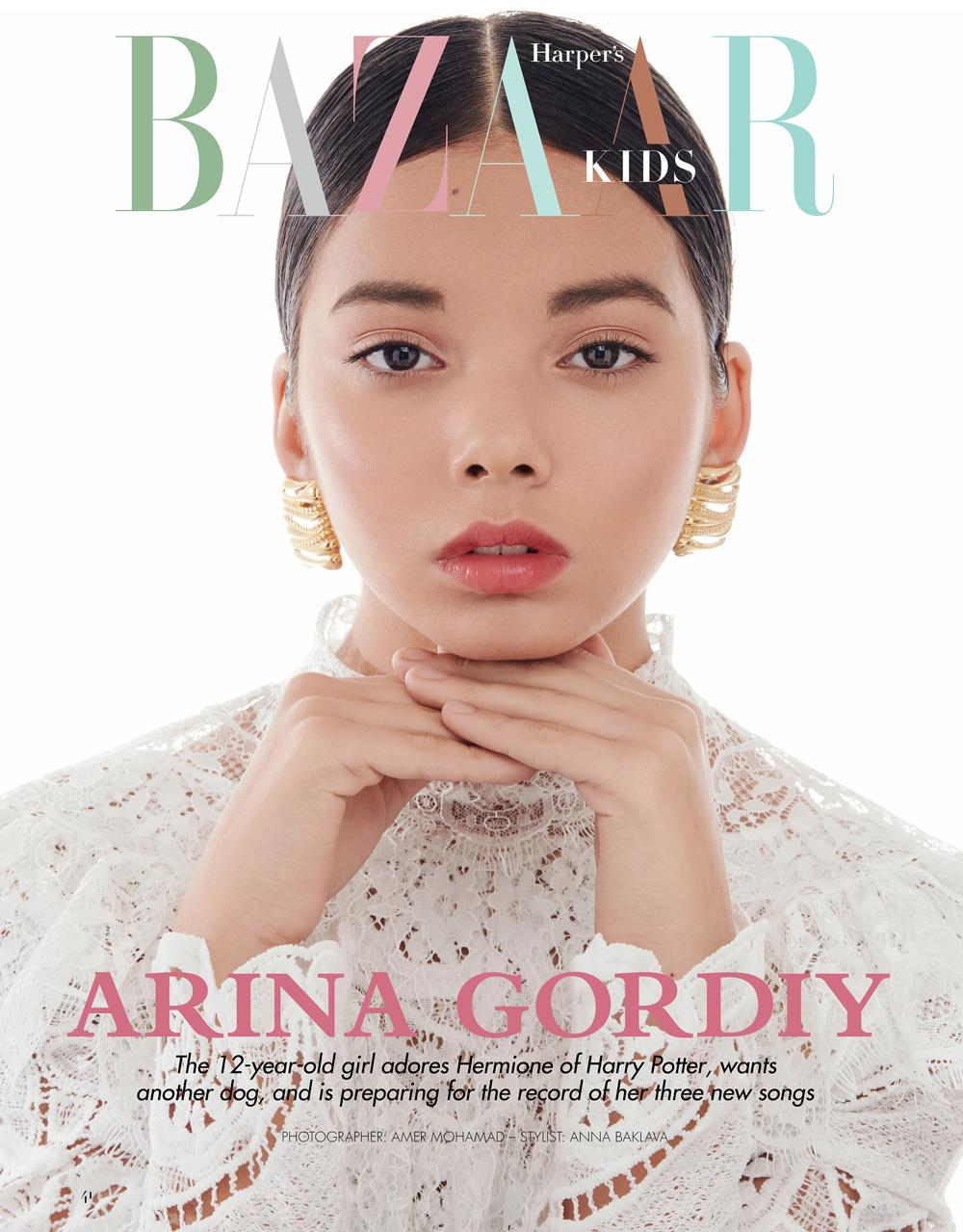 người mẫu nhí Nga Arina Gordiy 1