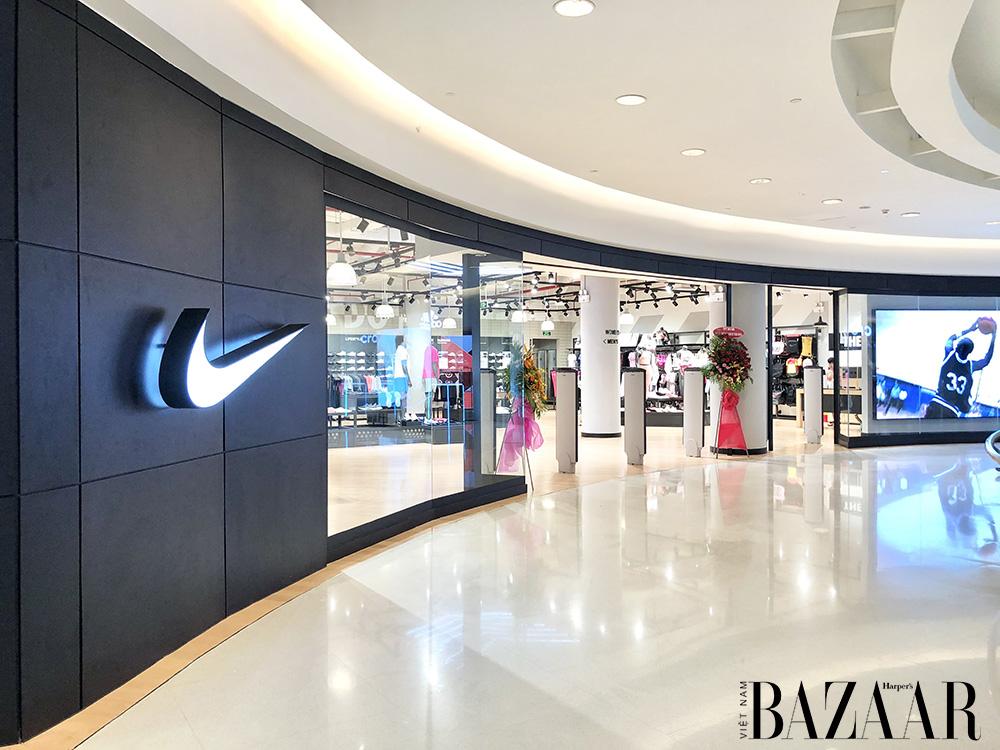 Diện mạo cửa hàng Cửa hàng Nike Crescent Mall