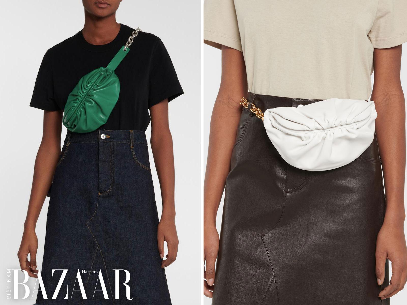 Có thể dùng The Belt Chain Pouch như túi đeo chéo người hay túi đeo hông