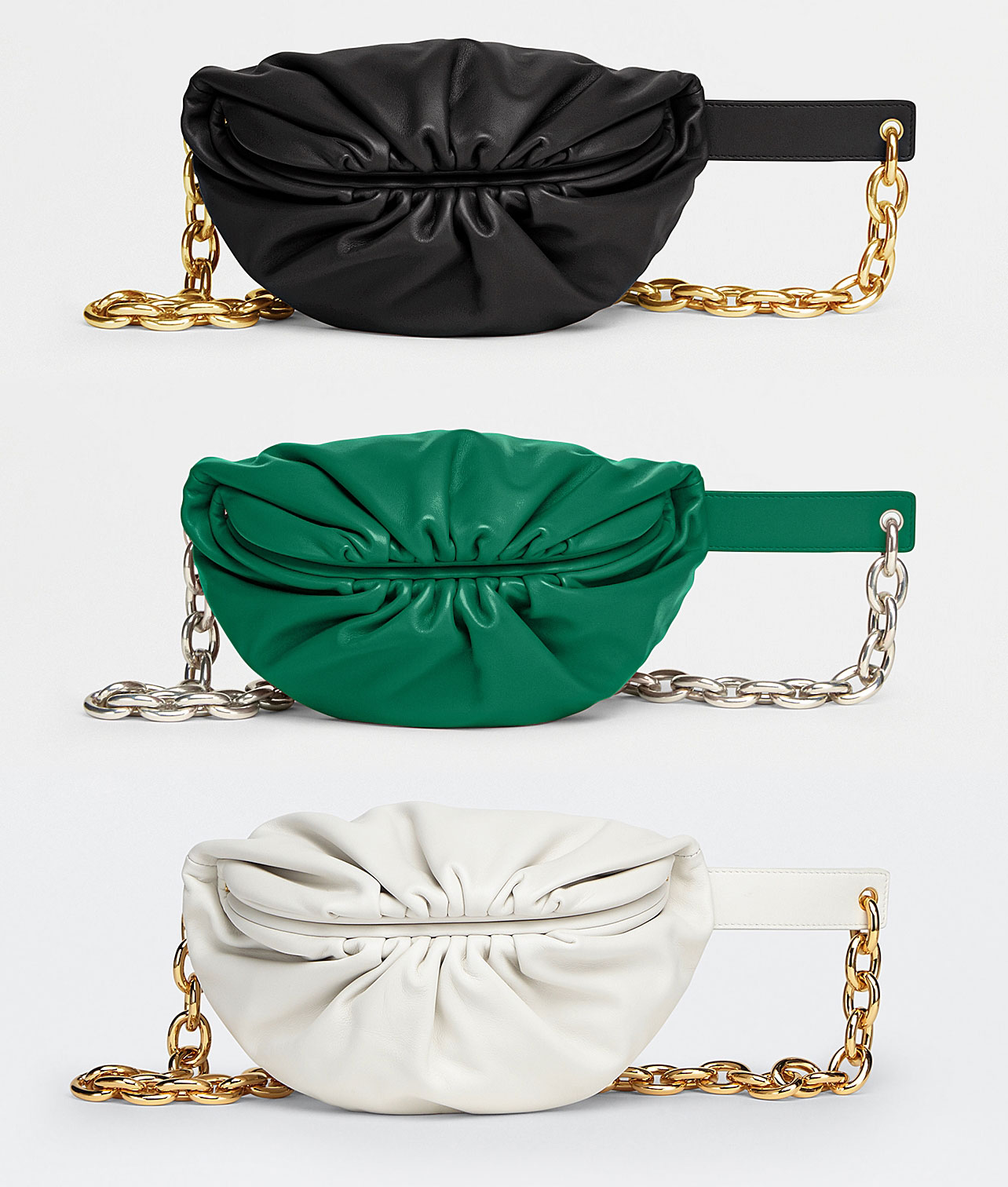 The Belt Chain Pouch, biến tấu mới của The Pouch từ Bottega Veneta 3