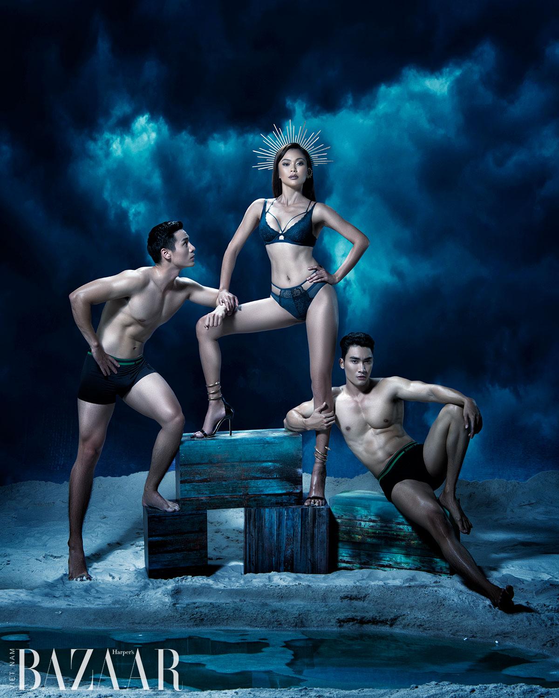 Mâu Thủy, Chi Pu, Khánh My hóa nữ thần trong bộ lịch Vera 2021 3