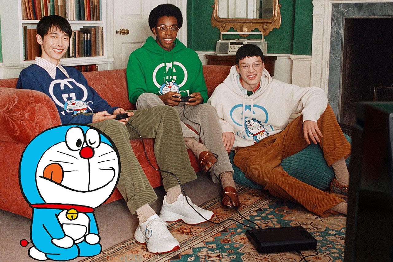 Bộ sưu tập Doraemon của Gucci mùa Tết 2021