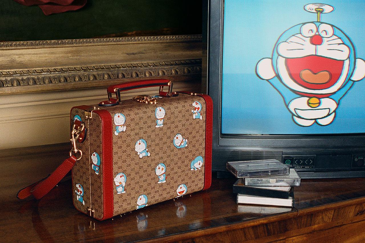 Mèo máy Doraemon làm mẫu cho bộ sưu tập Tết 2021 của Gucci 3