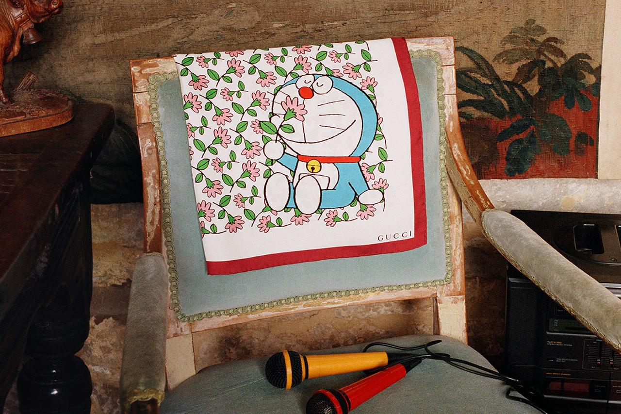 Mèo máy Doraemon làm mẫu cho bộ sưu tập Tết 2021 của Gucci 5