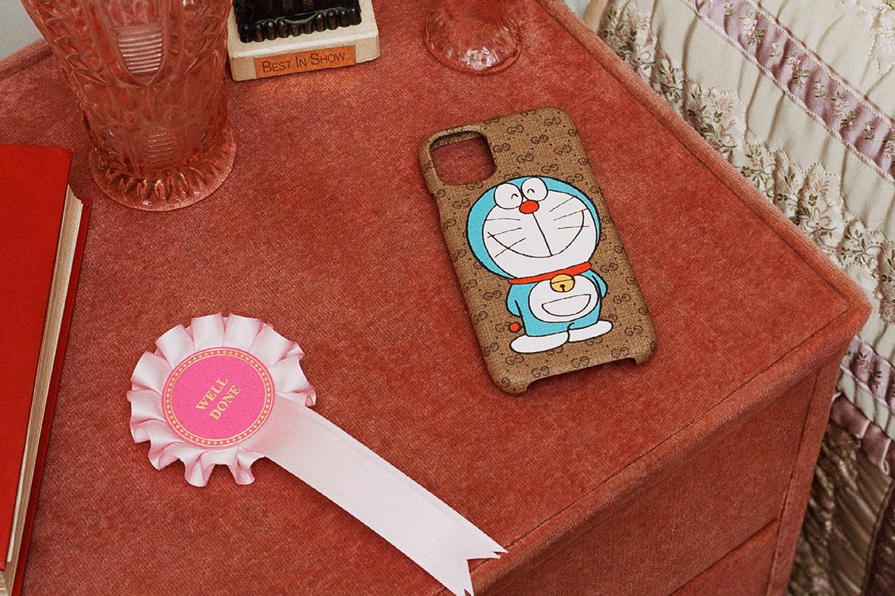 Mèo máy Doraemon làm mẫu cho bộ sưu tập Tết 2021 của Gucci 1