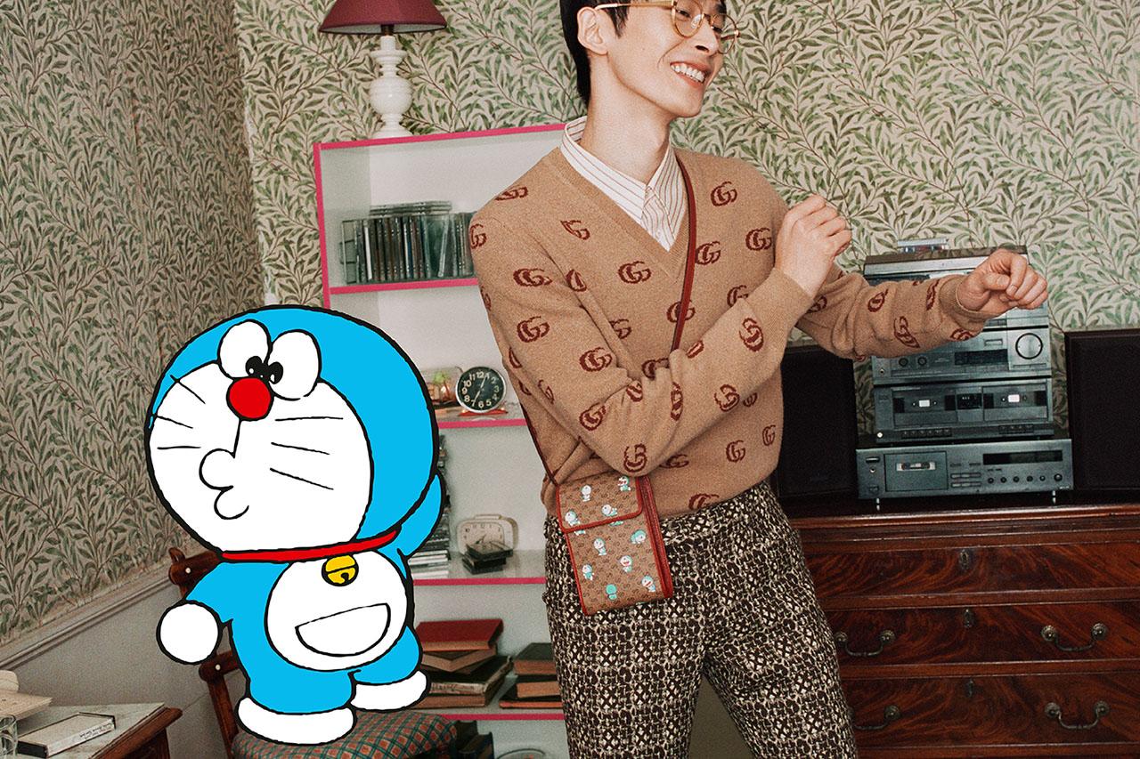 Mèo máy Doraemon làm mẫu cho bộ sưu tập Tết 2021 của Gucci 2