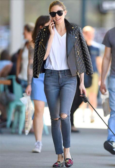 Nữ hoàng thời trang Olivia Palermo
