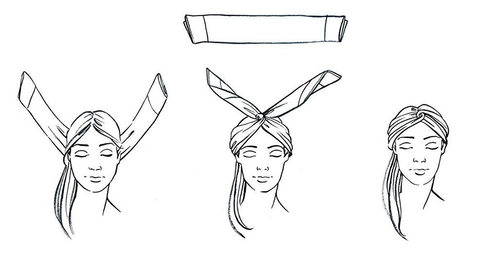 4 cách thắt khăn lụa vuông cho công sở thanh lịch như công nương Anh 8