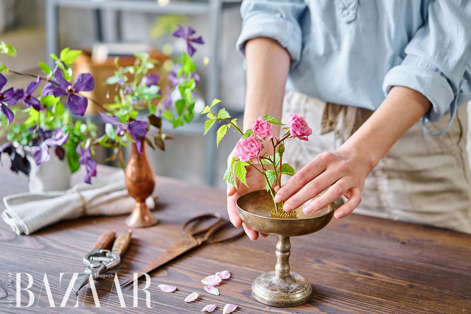 Hiểu về 5 yếu tố cắm hoa nghệ thuật của một bậc thầy