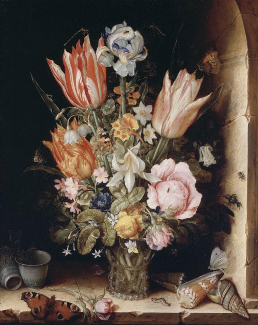 5 yếu tố trong bộ môn cắm hoa nghệ thuật: Form