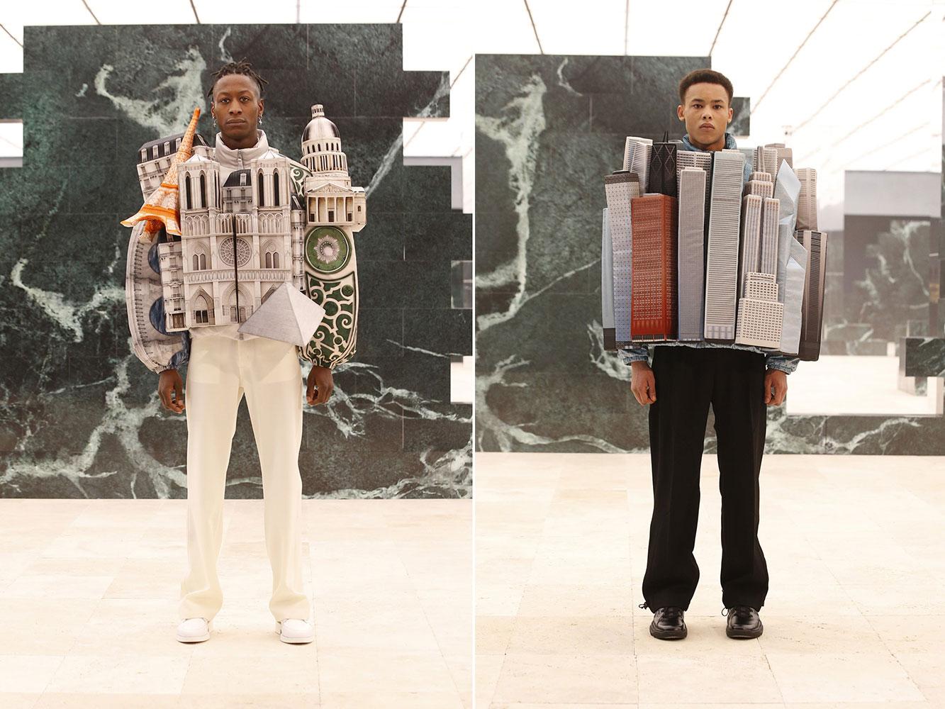 """Louis Vuitton Men Thu Đông 2021: Bộ sưu tập """"Peculiar Contrast, Perfect Light"""""""