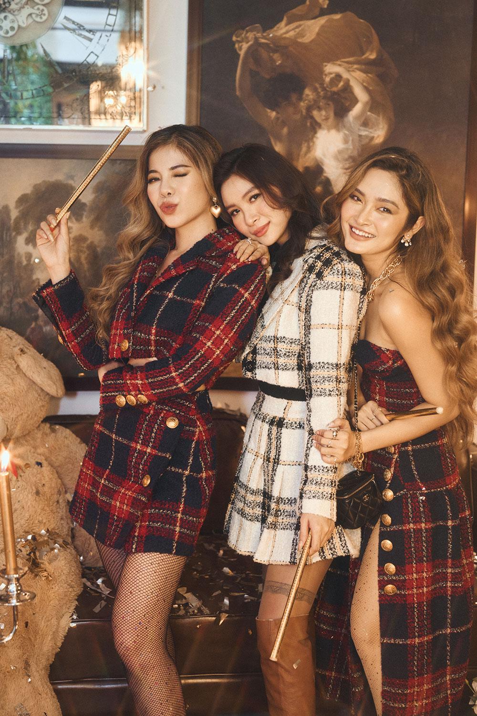Beauty blogger Chang Makeup tham gia làm mẫu BST De La Fête của DEVØNS STUDIO