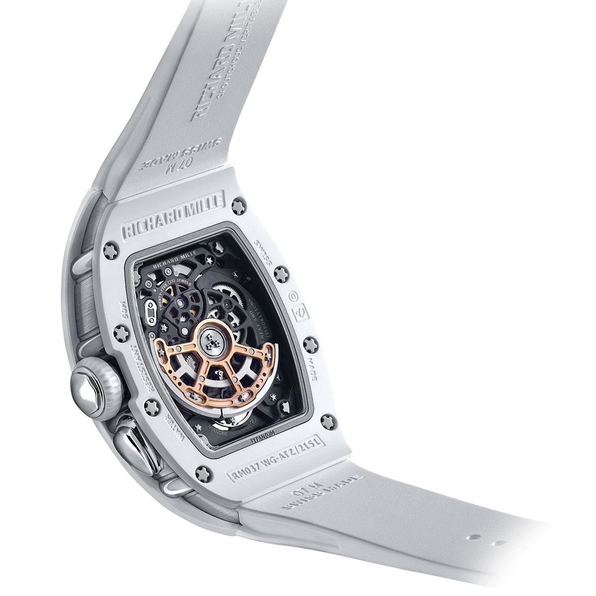 Đồng hồ Richard Mille RM 037 White Ceramic Automatic 1