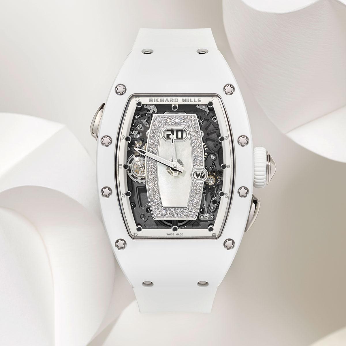 Đồng hồ Richard Mille RM 037 White Ceramic Automatic