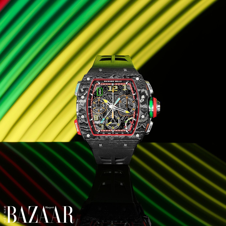 Richard Mille RM 65-01: Đồng hồ cho những tay đua cự phách
