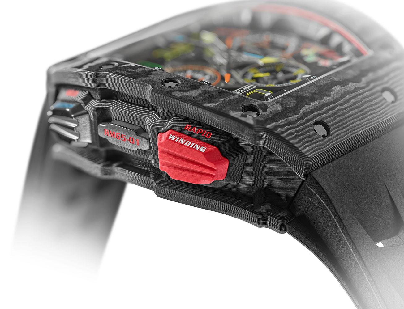 Richard Mille RM 65-01: Đồng hồ của những tay đua 2