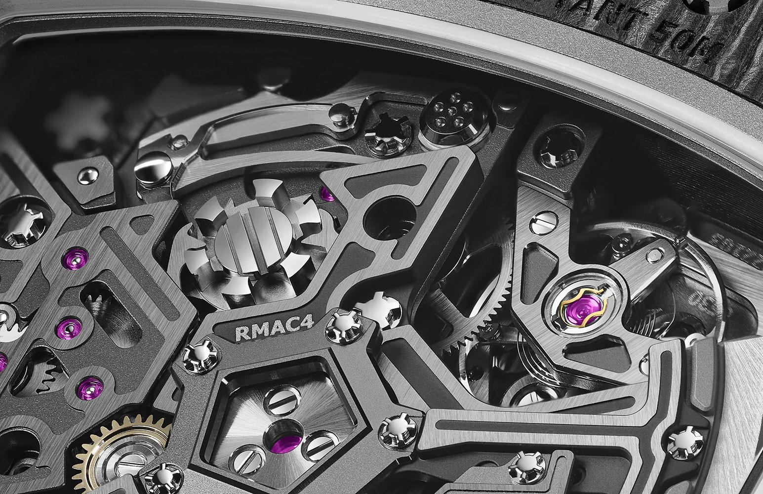 Richard Mille RM 65-01: Đồng hồ của những tay đua 4