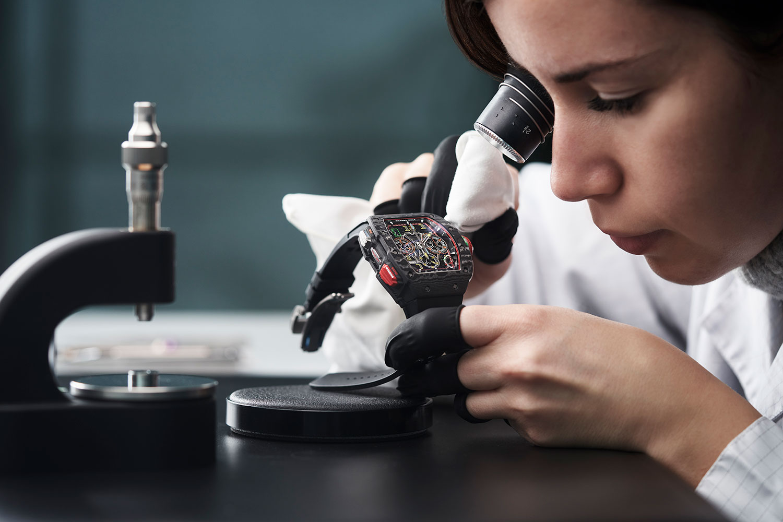Richard Mille RM 65-01: Đồng hồ của những tay đua 1